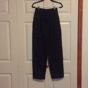 High-waisted warm suit pant from MANGO